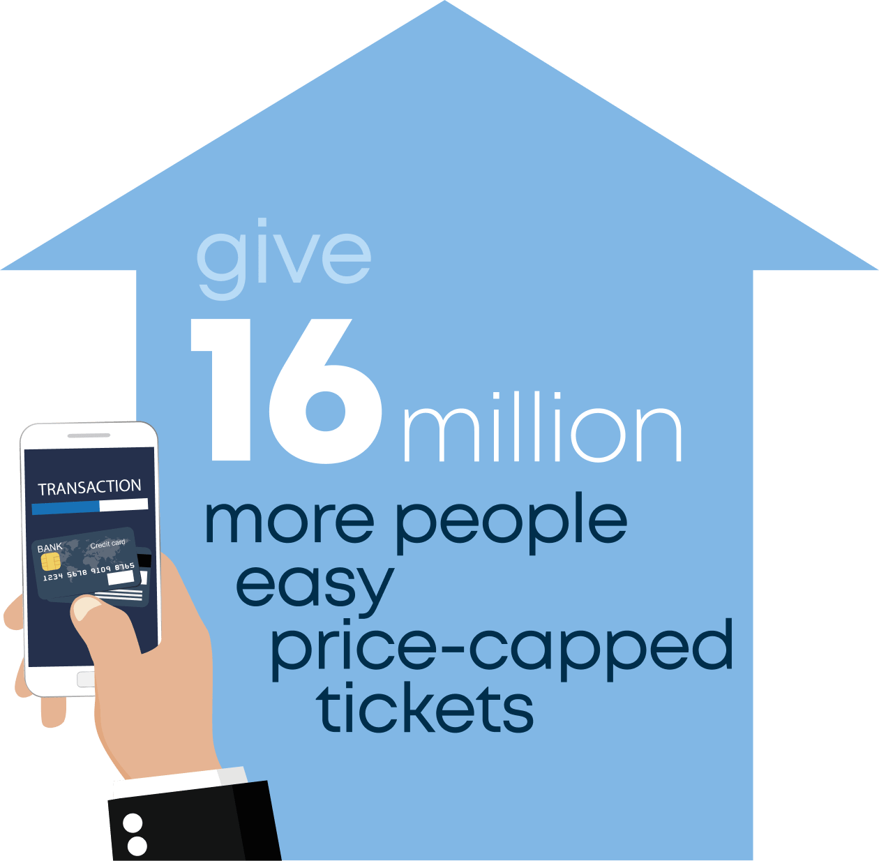 give 16 million more people easy price-capped tickets